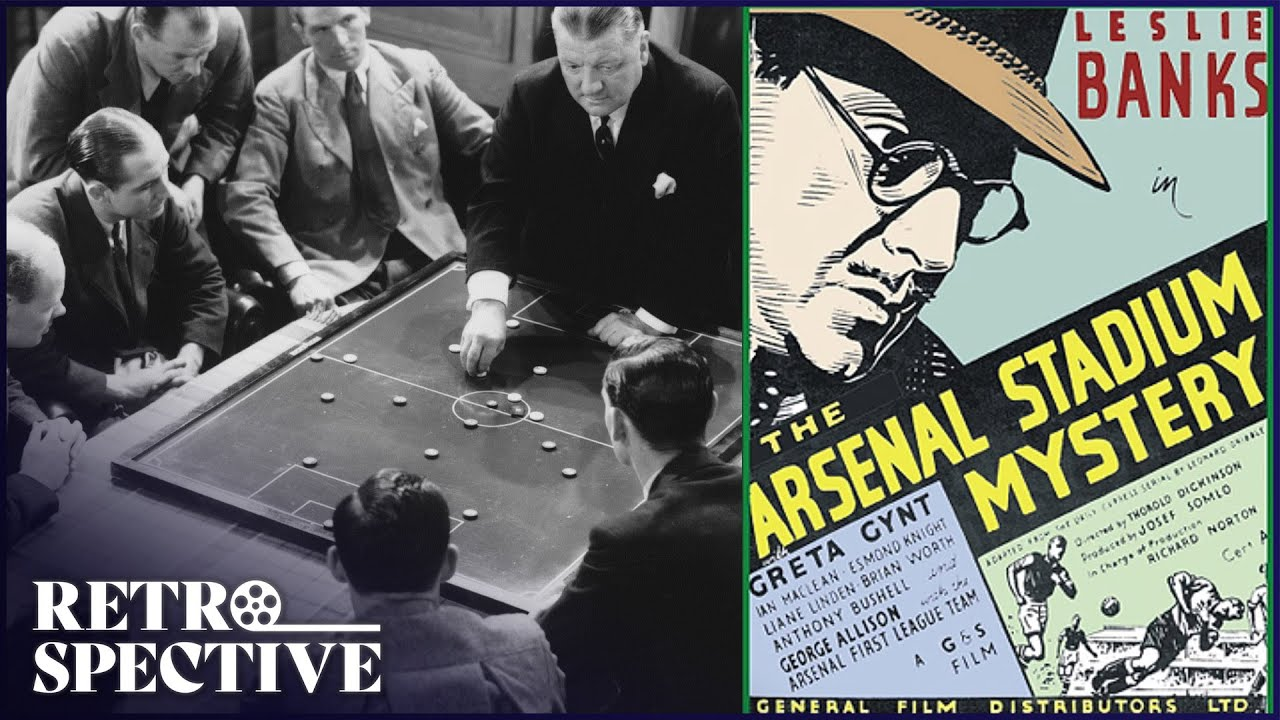 Arsenal Vs Trojans Full Movie   The Arsenal Stadium Mystery (1939)   Retrospective