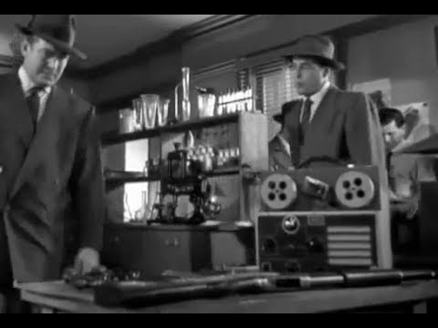 Forensic Detective Mystery Thriller Noir Movie - He Walked by Night (1948)
